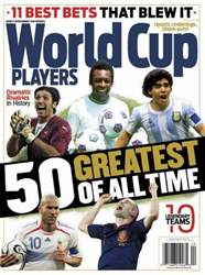 World Cup 50 Greatest Players 2014 issue World Cup 50 Greatest Players 2014