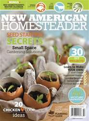 New American Homesteader March-April 2014 issue New American Homesteader March-April 2014