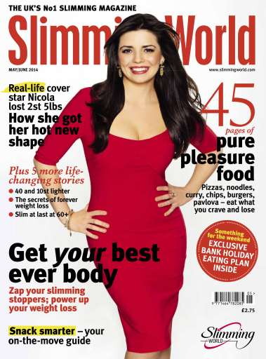 Slimming world magazine may june 2014 subscriptions for Slimming world official website