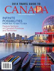 Travel Guide To Canada  2014 issue Travel Guide To Canada  2014
