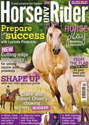 Horse&Rider Magazine – April 2014  issue Horse&Rider Magazine – April 2014