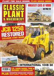 Vol.12 No.8 JCB 1250 Restored issue Vol.12 No.8 JCB 1250 Restored