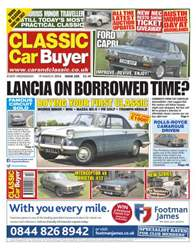 No.220 Lancia On Borrowed Time? issue No.220 Lancia On Borrowed Time?
