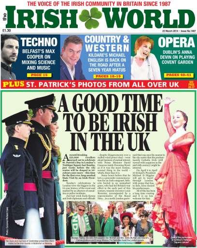 Irish World Preview