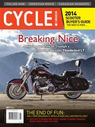 Cycle Canada Magazine Cover