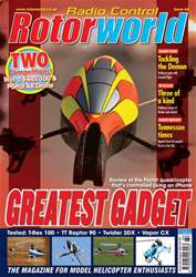 Radio Control Rotor World Magazine Cover