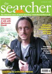 The Searcher Magazine Cover