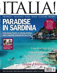 August 2011 Paradise in Sardinia issue August 2011 Paradise in Sardinia