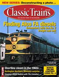 March 2014 Classic Trains issue March 2014 Classic Trains