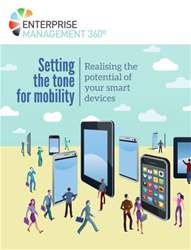 Setting the tone for mobility issue Setting the tone for mobility