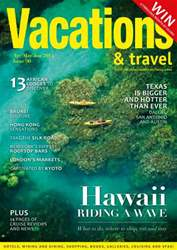 Vacations & Travel Magazine Cover