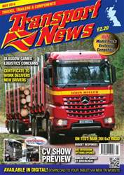 Transport News Magazine Cover