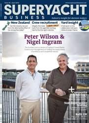 SuperYacht Business Magazine Cover