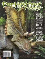 Prehistoric Times Magazine Cover