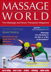Massage World Issue 82 issue Massage World Issue 82
