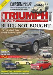 No.148 TR7V8 is built from scratch issue No.148 TR7V8 is built from scratch