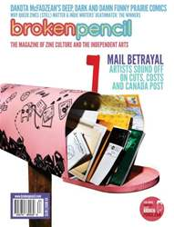Broken Pencil Magazine Cover