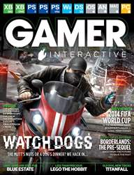Gamer Interactive Magazine Cover