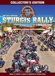 2013 Official Sturgis Rally Guide issue 2013 Official Sturgis Rally Guide