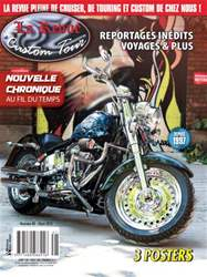 Custom Tour Magazine Cover