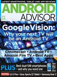 Android Advisor Magazine Cover