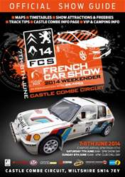 French Car Show 2014 Official Show Guide issue French Car Show 2014 Official Show Guide