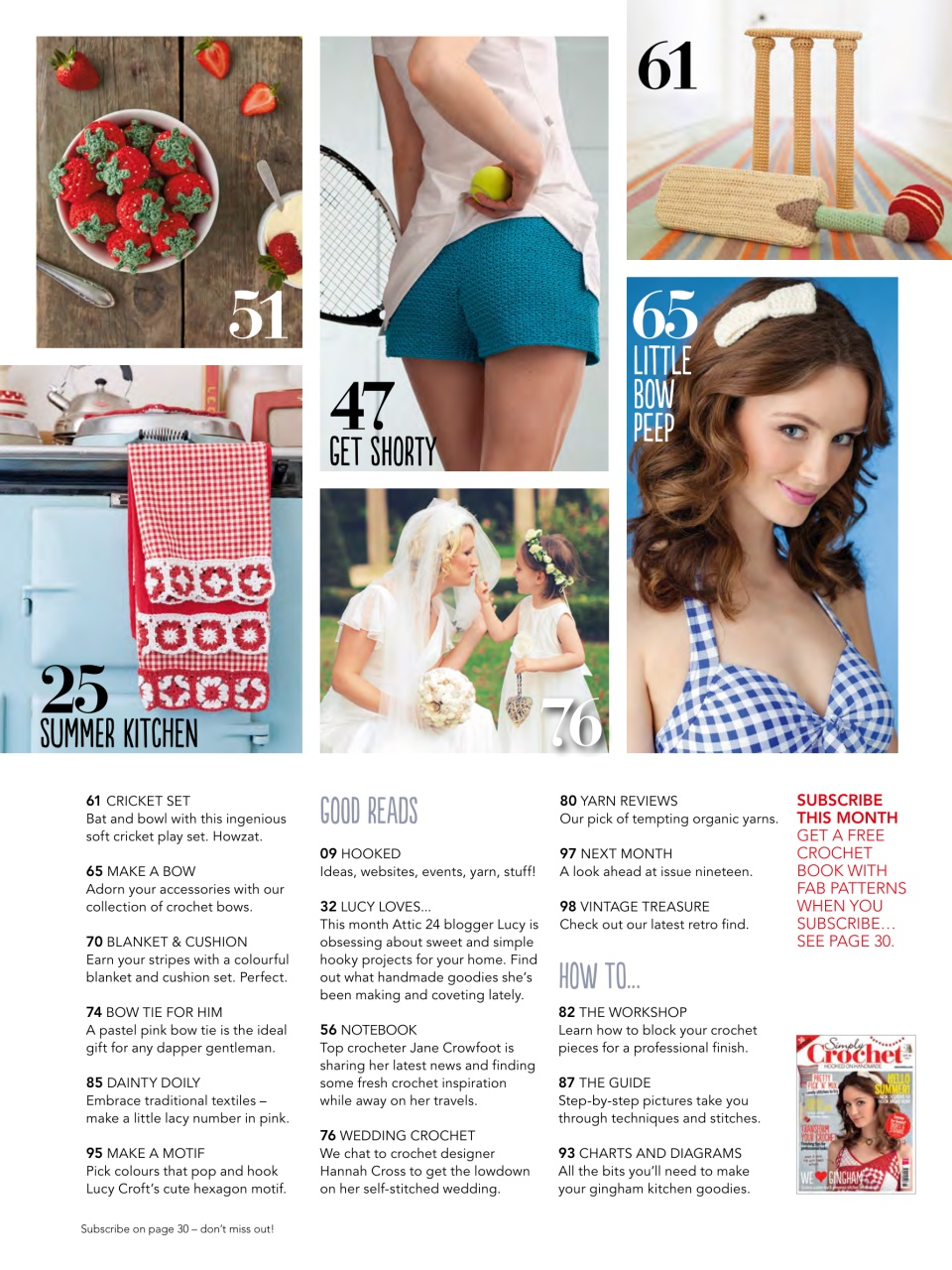 Simply Crochet Magazine Issue 18 Subscriptions Pocketmags