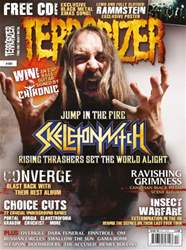 Terrorizer 191 Christmas 2009 issue Terrorizer 191 Christmas 2009