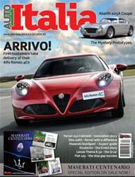Auto Italia Issue 220 issue Auto Italia Issue 220