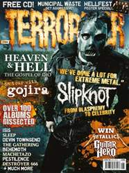 Terrorizer 184 May 2009 - Slipknot issue Terrorizer 184 May 2009 - Slipknot