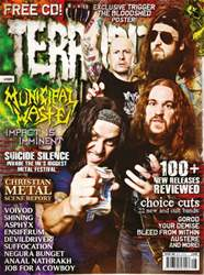 Terrorizer 186 July 2009 - Municipal Waste issue Terrorizer 186 July 2009 - Municipal Waste