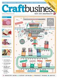 Craft Business Magazine Cover