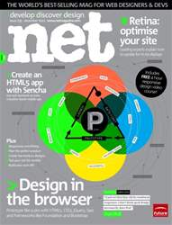 net Magazine Cover