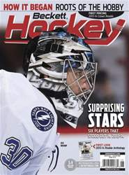 Beckett Hockey Magazine Cover