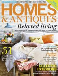 Homes & Antiques Magazine Magazine Cover