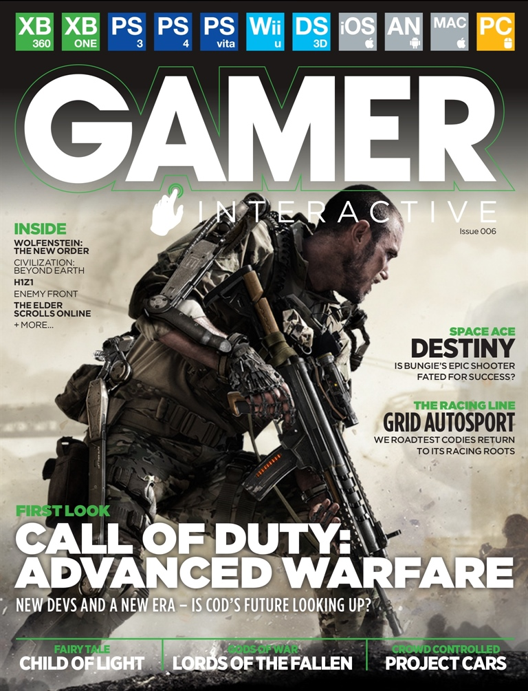 Gamer Interactive Digital Issue