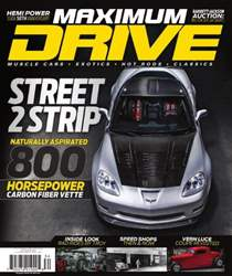 Maximum Drive Magazine Cover