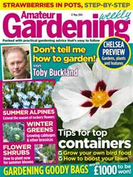 Amateur Gardening Magazine Cover