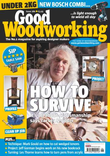 Good Woodworking Magazine 280 Subscriptions Pocketmags