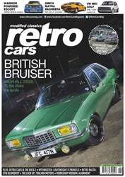Retro Cars Magazine Cover