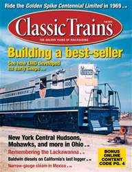 September 2013 Classic Trains issue September 2013 Classic Trains