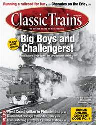 March 2013 Classic Trains issue March 2013 Classic Trains