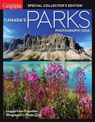 Canada's Parks Photography 2014 issue Canada's Parks Photography 2014