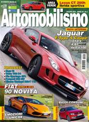 Automobilismo Magazine Cover