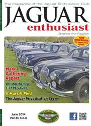 Jaguar Enthusiast Magazine Cover