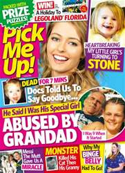 Pick Me Up Magazine Cover