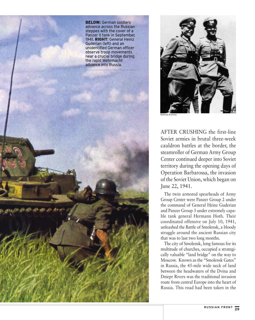 an overview of the operation barbarossa during the wwii invasion of russia World war ii korea vietnam the failure of operation barbarossa the failure of he german invasion of yugoslavia and greece during april and may.