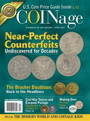 COINage Magazine Cover