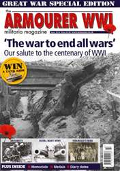 The Armourer WWI  issue The Armourer WWI