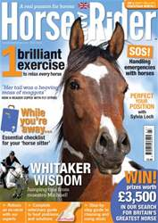 Horse&Rider Magazine – July 2014 issue Horse&Rider Magazine – July 2014